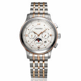 Caluola Automatic Men Watch with Day-Date Moonphase Month Business Watch CA1104M