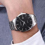 Caluola Business Ultra Thin Watch Automatic Men Watch Date Simple CA1147MM