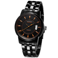 Caluola Men Watch Automatic Watch PVD  Date Fashion Sport Watch  CA1014MM