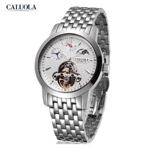 Caluola Business Watch Automatic Fashion Women Watch Casual Watch 1021