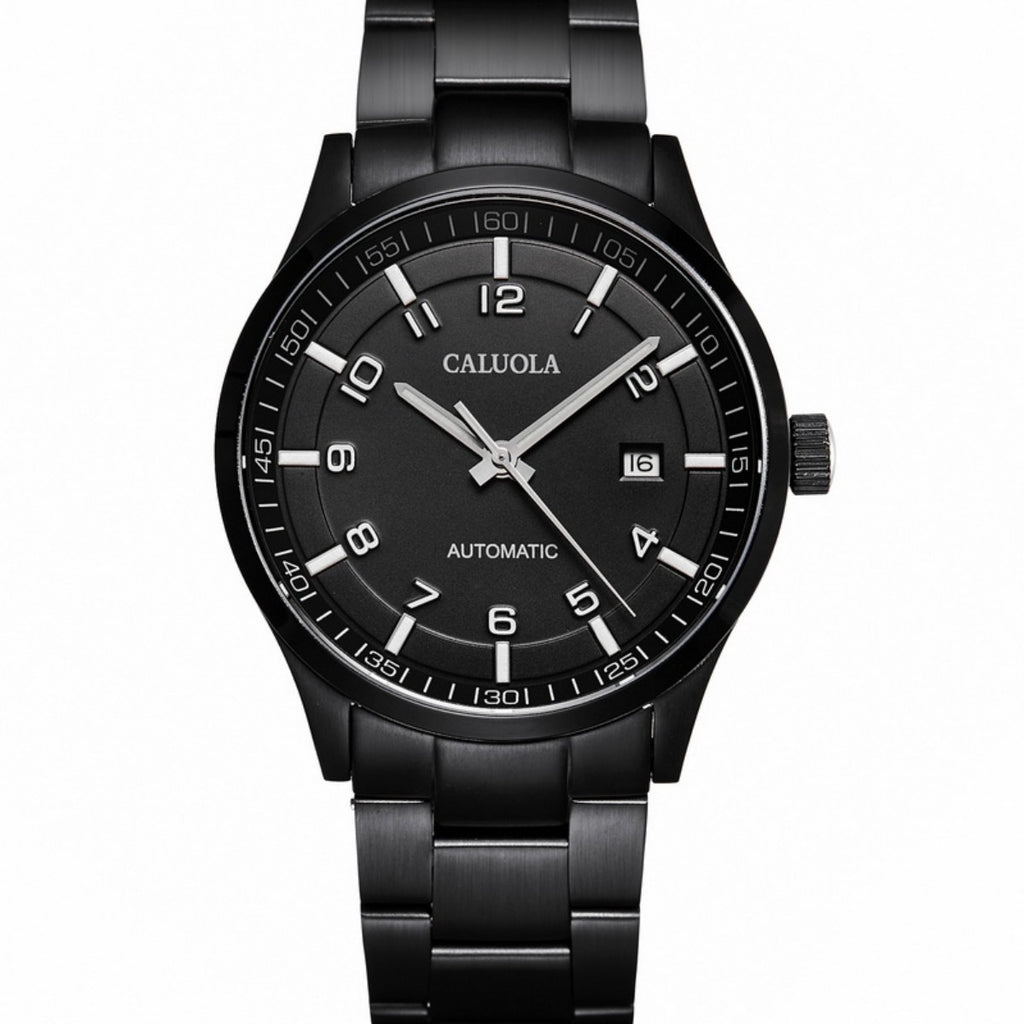 Caluola Business Watch Automatic Date Men PVD Watch Fashion Watch CA1069MM
