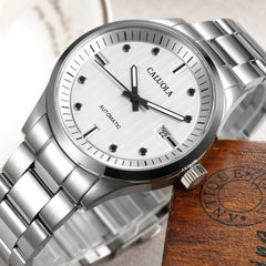 Caluola Fashion Watch Automatic Date For Men Luminous CA1044M