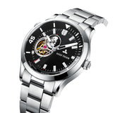Reef Tiger TOP Brand Automatic Mens Watch Sapphire Glass Stainless Steel Watch RGA1693-2