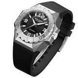 Reef Tiger Big Watches For Men Steel Case Automatic Mechanical Military Watches RGA6903
