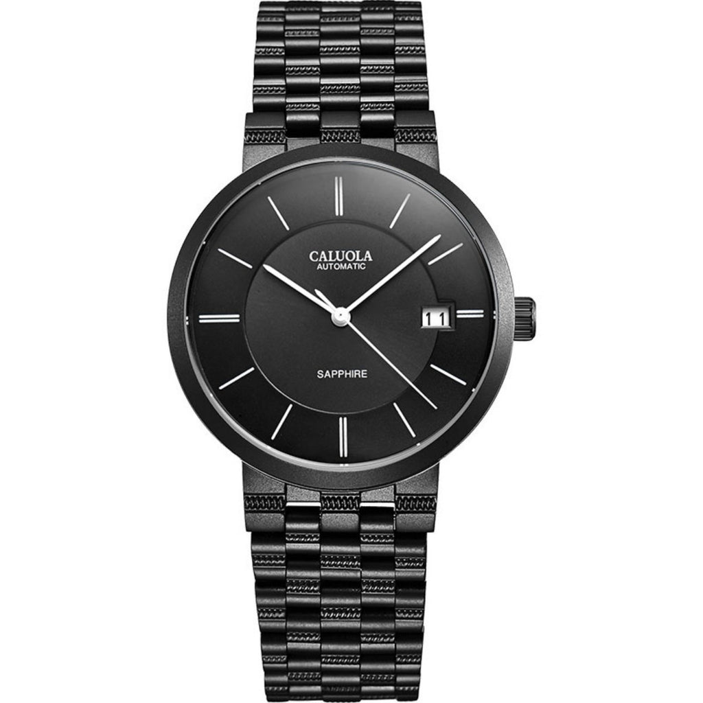 Caluola Automatic Watch Fashion PVD Women Waterproof Sport Watch CA1014G