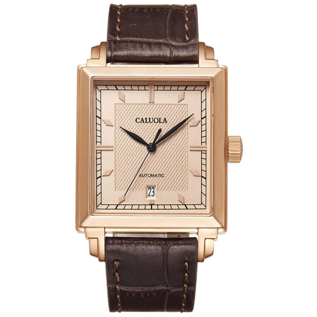 Caluola Automatic Watch Fashion Waterproof Business Men Watch CA1177