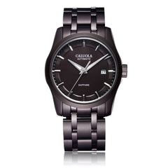Caluola Fashion Automatic Watch Men Watch Day-Date PVD Watch CA1005G
