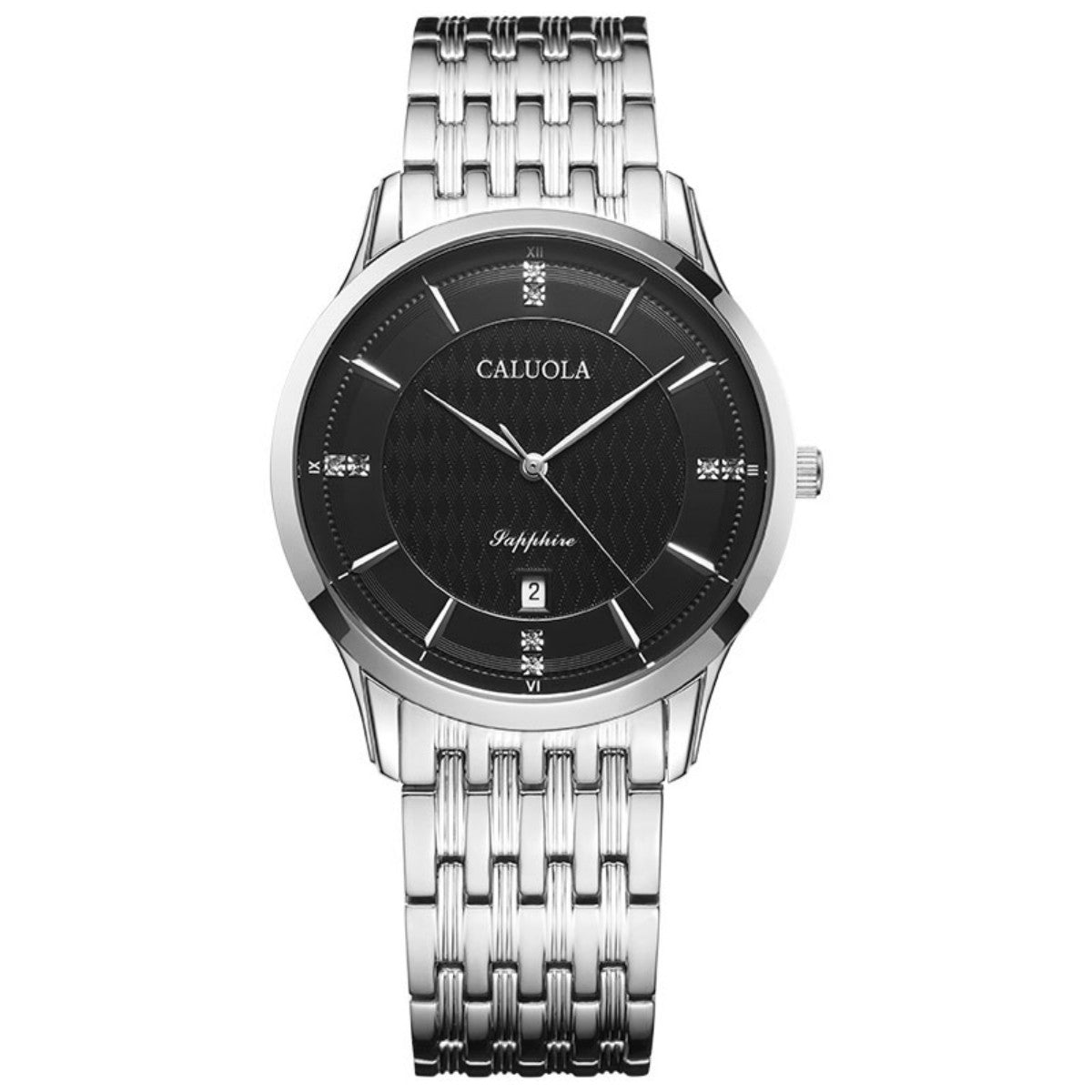 Caluola Quartz Watch With Date Fashion Men Waterproof Sport Watch CA1014G