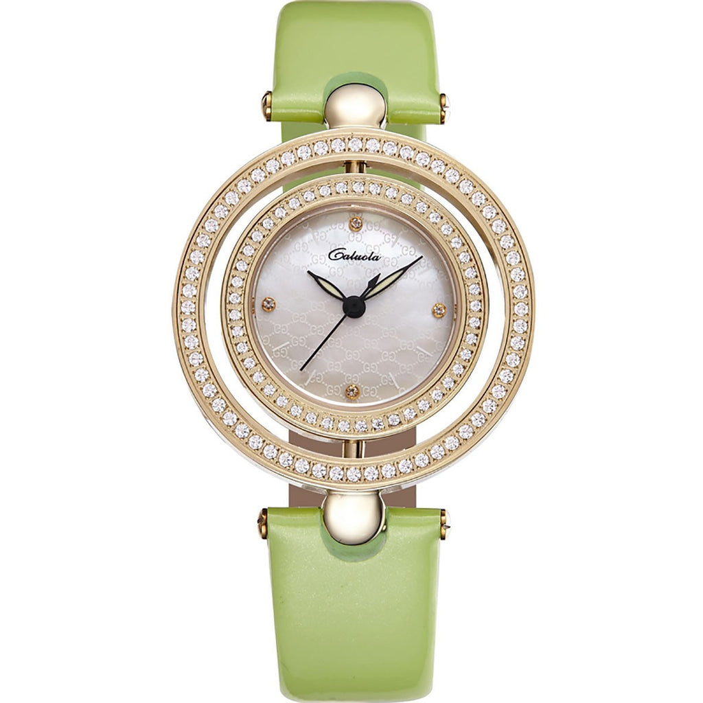 Caluola Quartz Elegant Women's Watch Diamonds Luminous Fashion Watch CA1105L