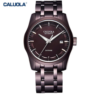 Caluola Fashion Sport Automatic Watch for Men Water Waterproof Watch with Date CA1005