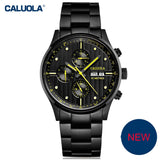 Caluola Automatic Watch With Six Hands Day-Date Fashion Men Watch Calendar CA1094M