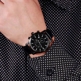 Caluola Quartz Watch With Date Fashion Men Watch Chronograph Sport CA1014G