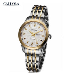 Caluola Fashion Men Watches Simple Waterproof Quartz Casual Watch CA1070G