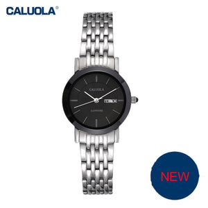 Caluola Fashion Women Watches Simple Business Quartz Casual Watch CA1119GL