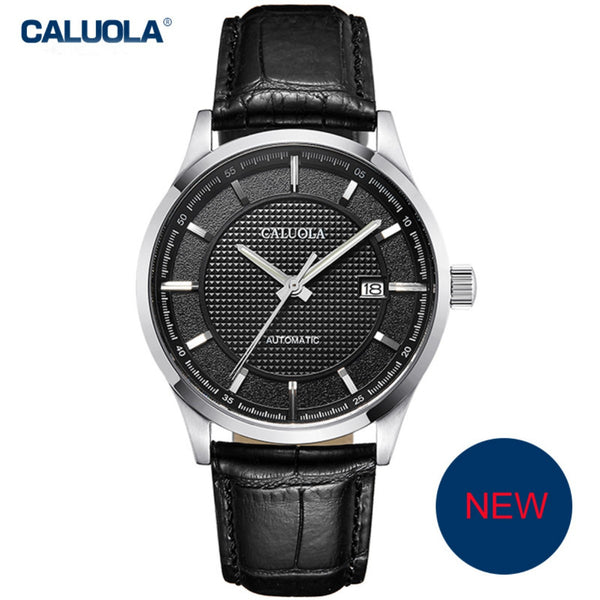Caluola Men Watch Business Automatic Date Luminous Fashion Watch CA1209MM