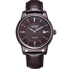 Caluola Vintage Watch Automatic Date Business Watch Men Watch Casual CA1082MM
