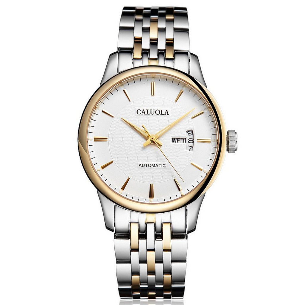 Caluola Business Watch Automatic Day-Date Men Watch Luminous Fashion CA1095MM