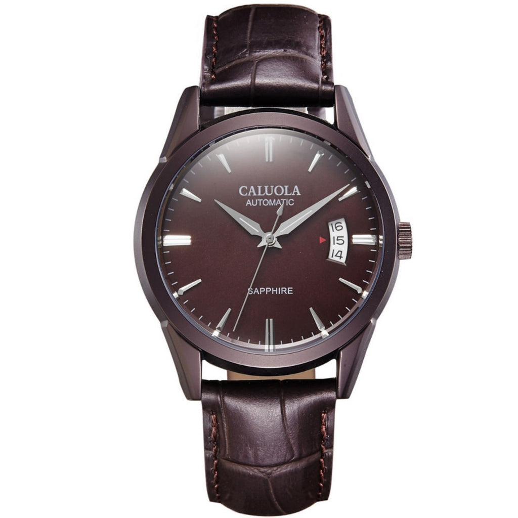 Caluola Automatic Men Watch With Date Business Watch CA1102M