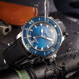 Reef Tiger Super Luminous Automatic Dive Rose Gold Watch with Nylon Strap RGA3035
