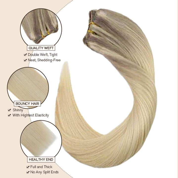 clip in hair extension nordic