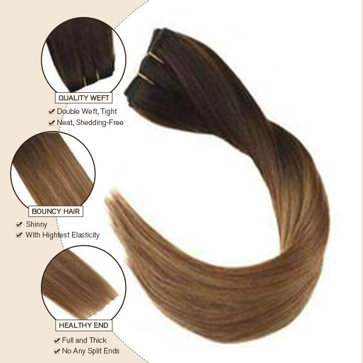 clip in hair extensions 10 pcs