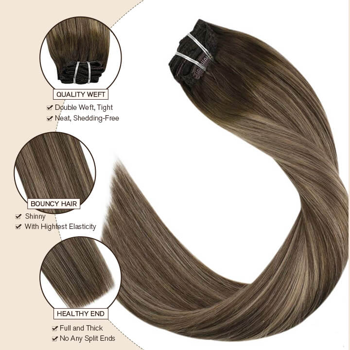 clip in hair extensions  4/27/4