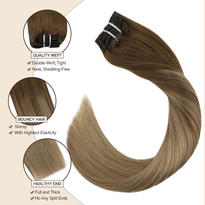 clip in hair extensions 8 /16