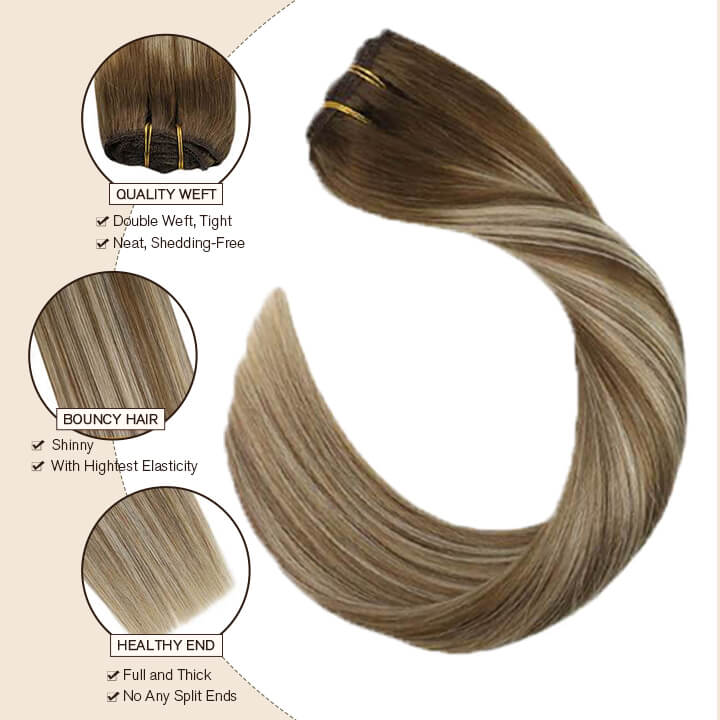 clip in hair extensions 9a/60