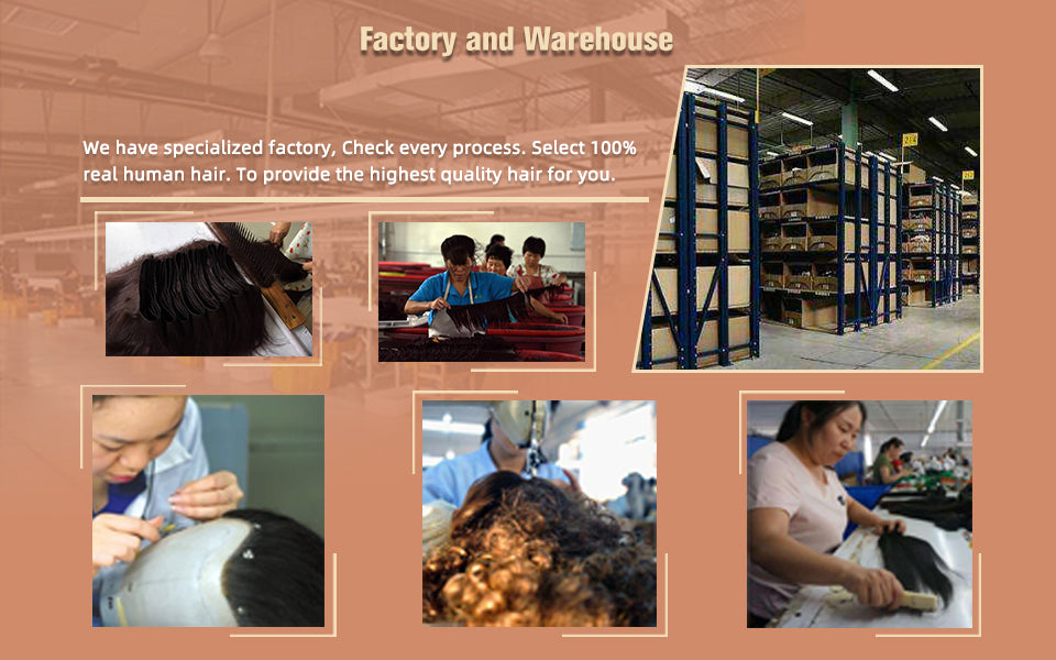 The factory of ugeat hair