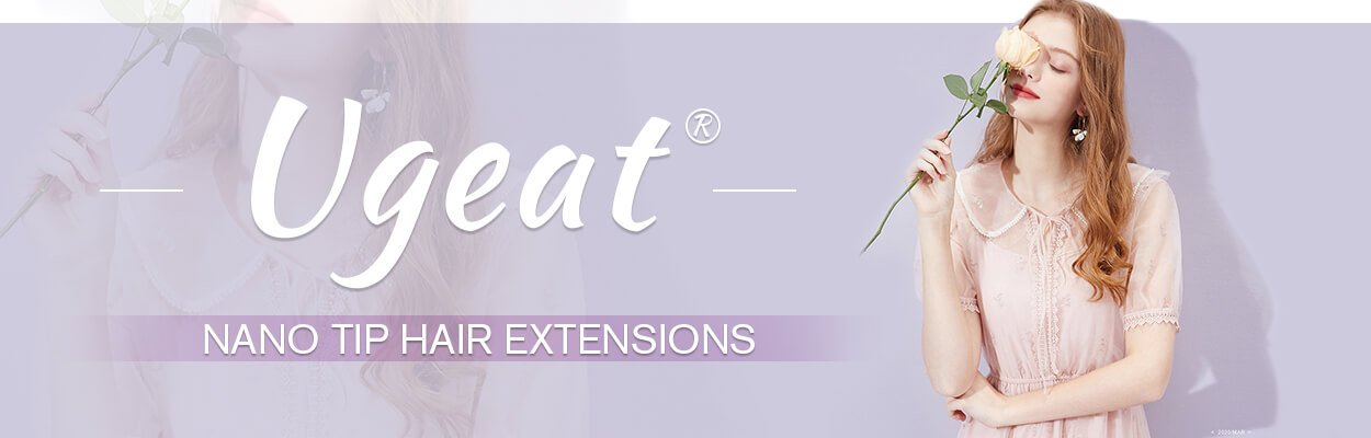 Nano tip hair extension