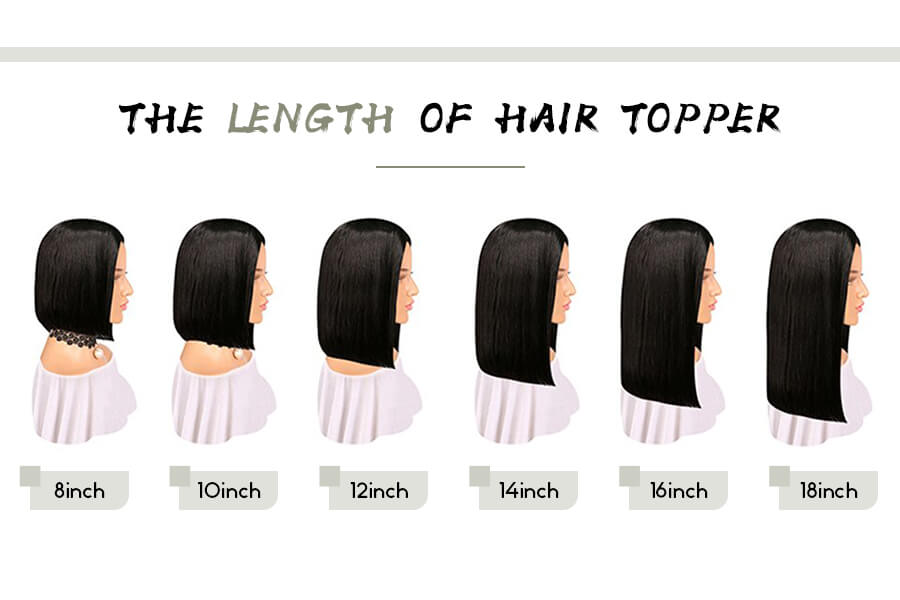 How to choose uegat hair topper