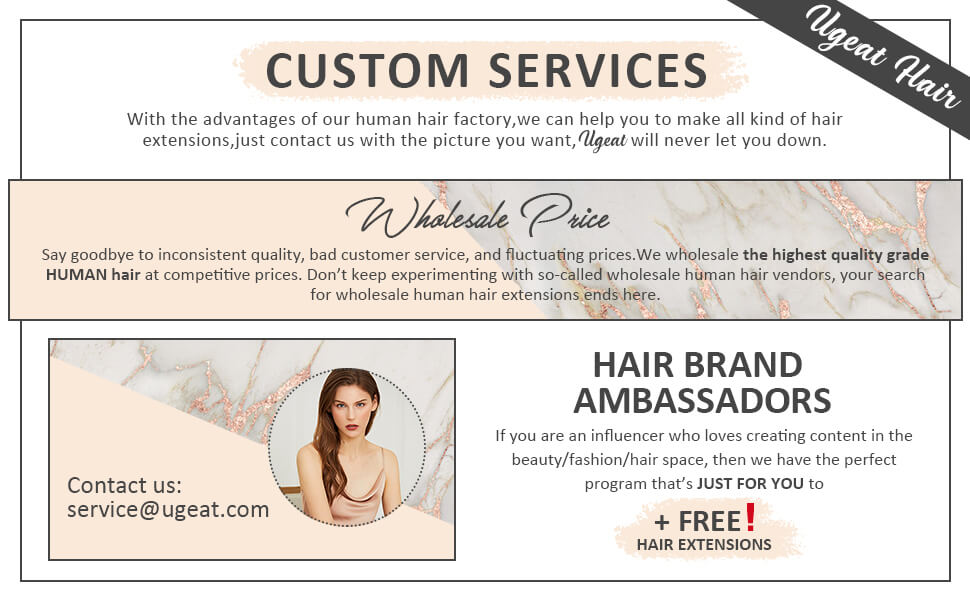 we provide high quality hair in low price