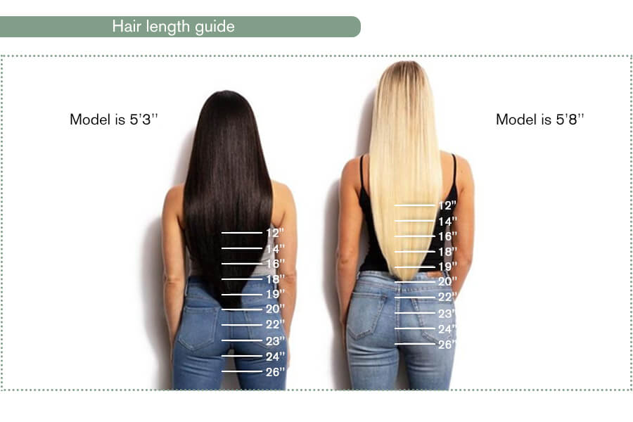 What length of hair extensions you should choose?