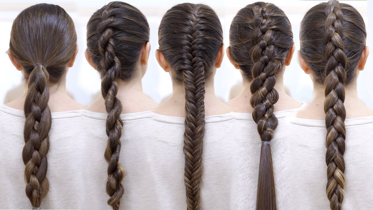 HOW TO BRAID YOUR HAIR IN CUTE WAY