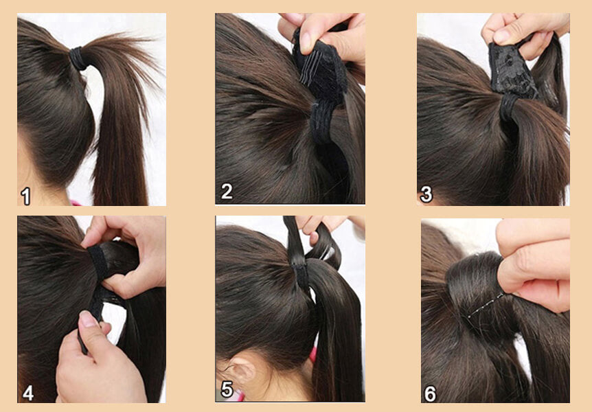 how to wear ponytail
