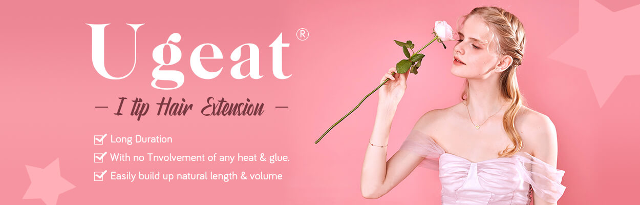 Ugeat I tip in Hair extension