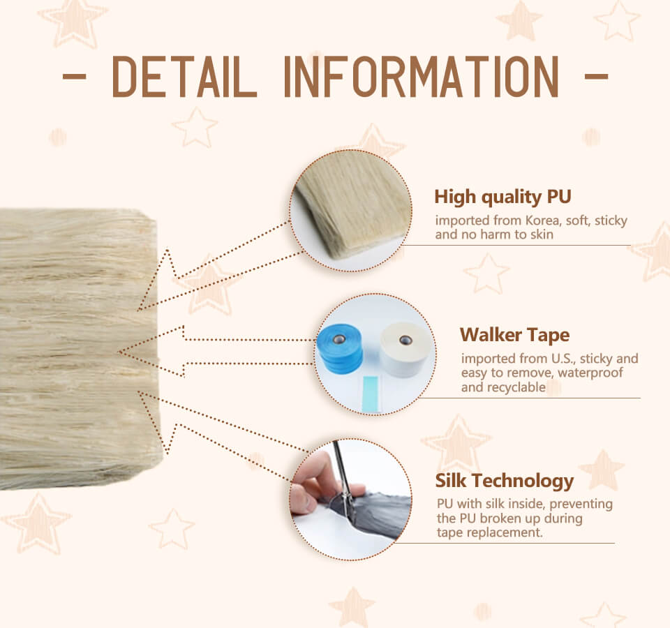 Why choose injection seamless virgin tape?