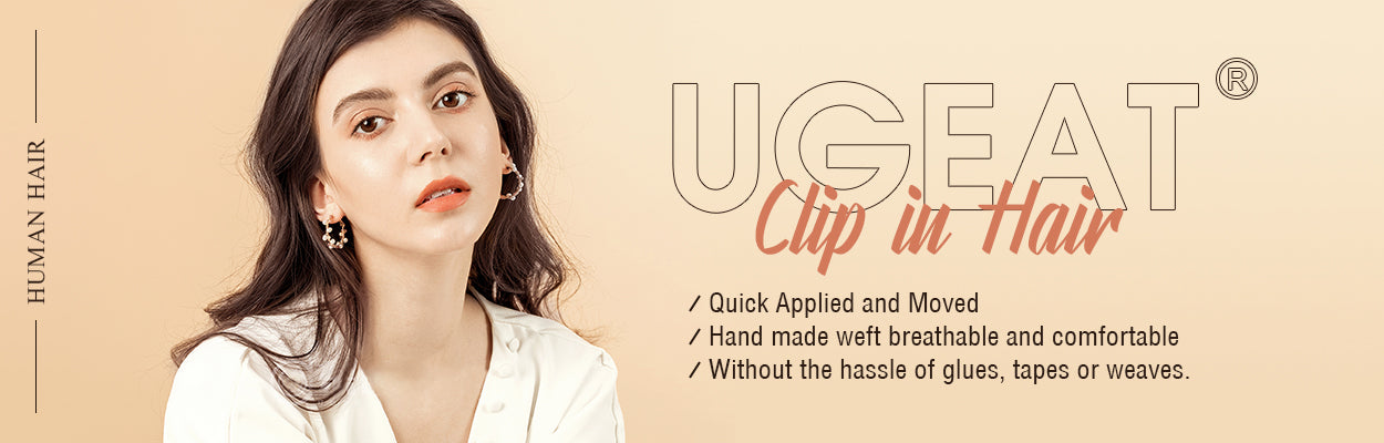 Ugeat clip in hair extension