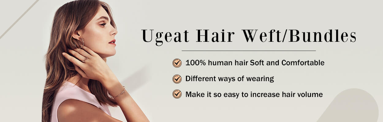 ugeat hair weft hair bundles