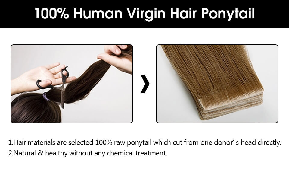 virgin injection tape in hair extensions