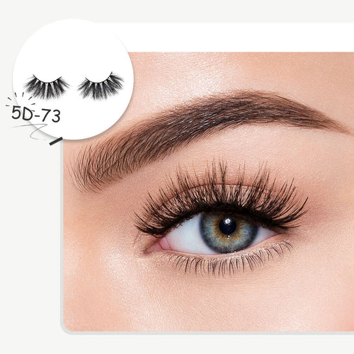 Fluffy Extension Eyelashes Pack Soft Thick Handmade Fake Eyelashes Makeup