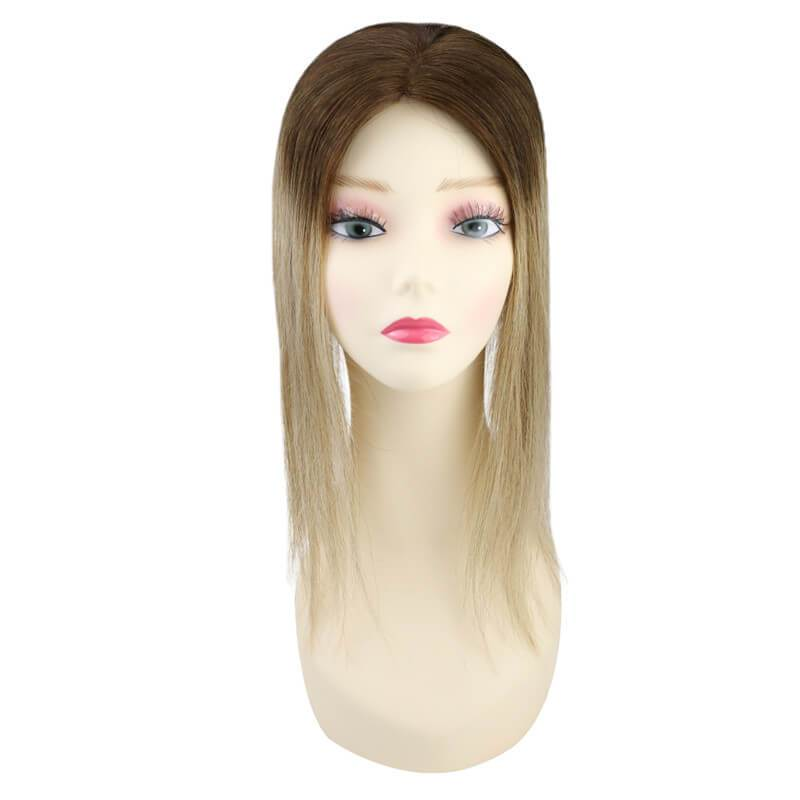 Human Hair Topper Invisible Hair Pieces For Women Toupee
