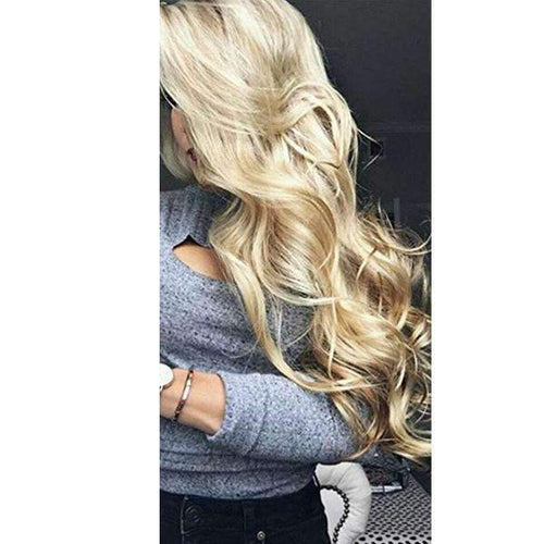 Lace Front Human Hair Wig Real Hair Wigs Blonde Color-UgeatHair