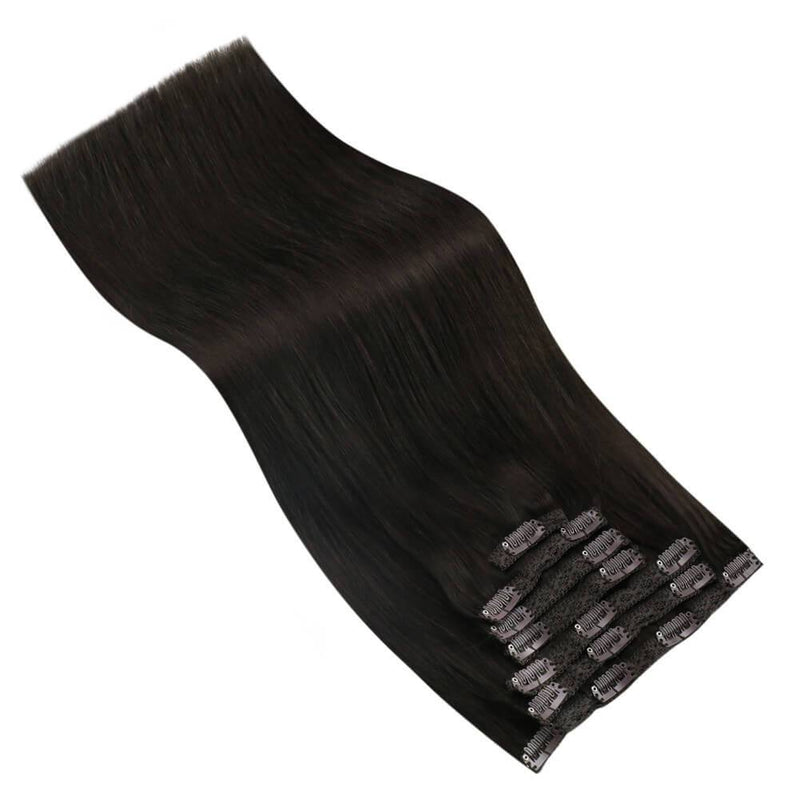 Hair Extensions Clip in Human Hair 18 Inch Clip in Hair Extensions