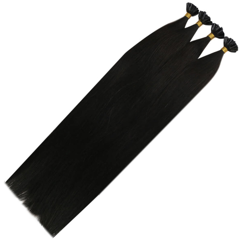Virgin  hot fushion u tip hair extension