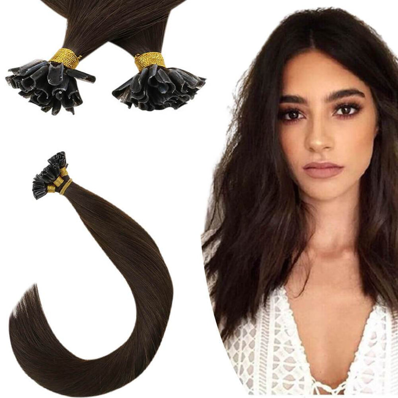 Virgin U tip Hair extensions