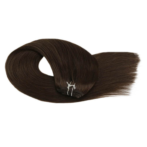 Hand Tied Double Tape Hair Extension Wavy Hair Tape in Hair Extensions