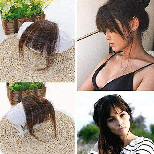 natural hair extensions clip