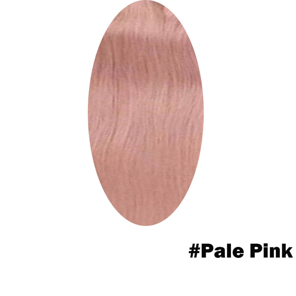 pale pink hair extensions