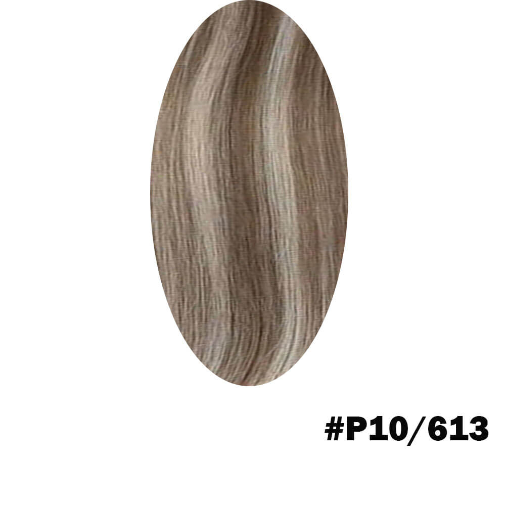 brown to blonde highlight color